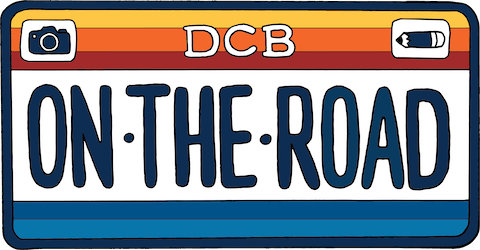 DCB On the Road logo