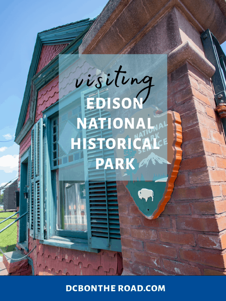 visiting Edison National Historical Park in New Jersey