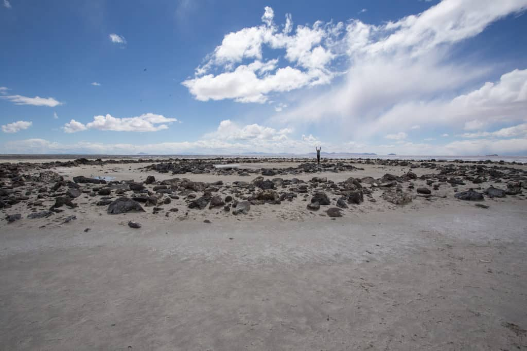 Spiral Jetty, Robert Smithson, Utah