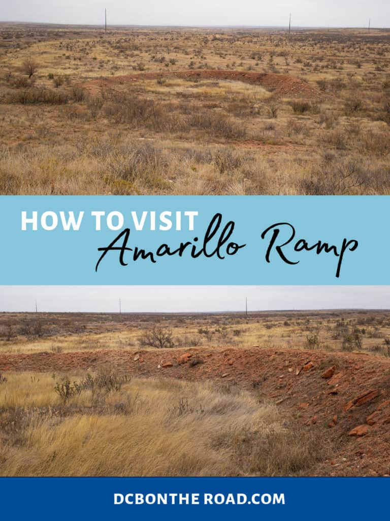 how to visit Amarillo Ramp