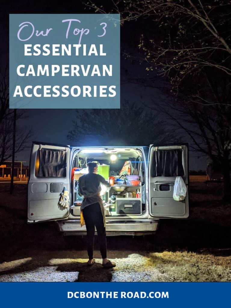 top 3 campervan essentials