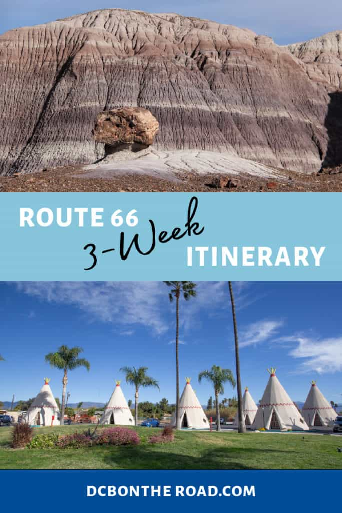 route 66 itinerary planning