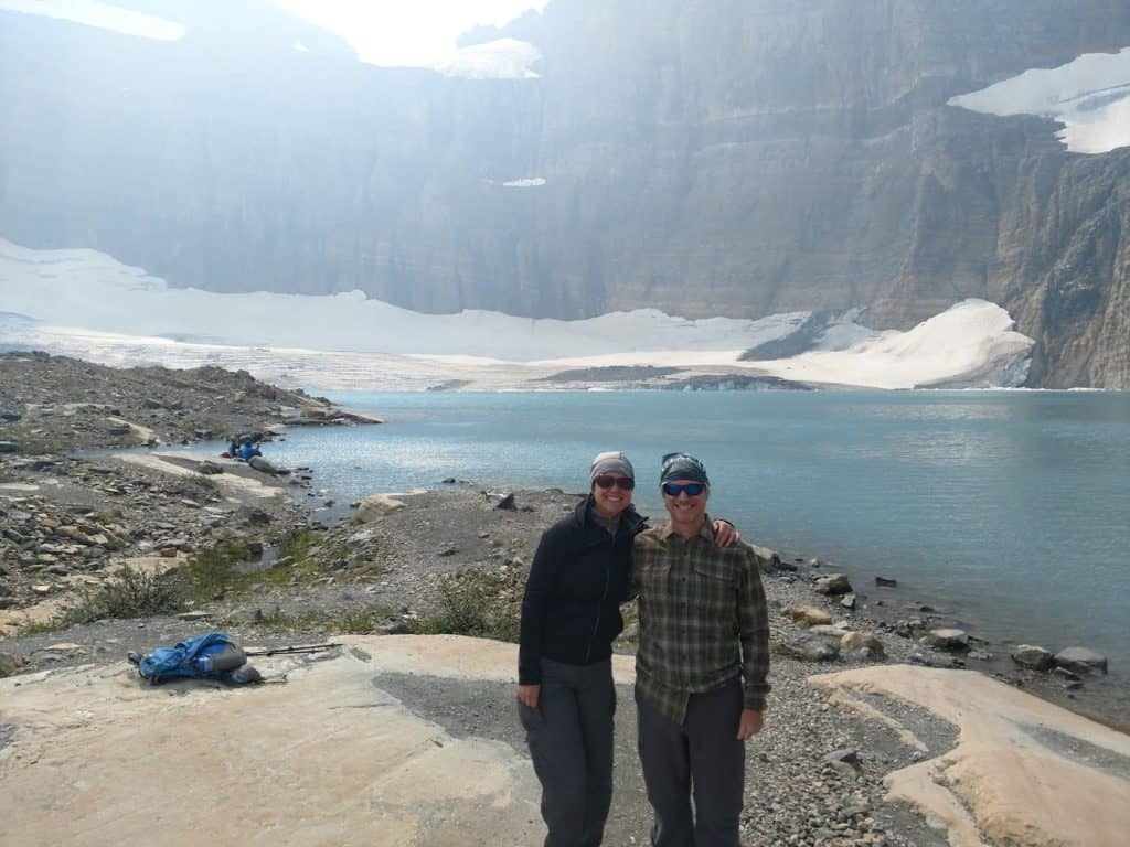 Grinnell Glacier hike summit